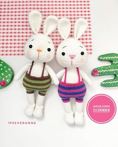 In this article, amigurumi bunny free patterns, knitting toy models are waiting. You can find everything you want about Amigurumi. Crochet Bunny Pattern, Crochet Dolls Free Patterns, Crochet Rabbit, Amigurumi Patterns, Easter Crochet, Cute Crochet, Crochet Toys, Stuffed Animal Patterns, Amigurumi Doll