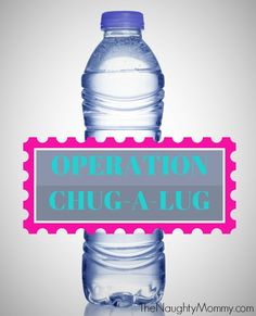 Operation Chug-A-Lug (Drinking a Gallon of Water a Day) from TheNaughtyMommy.com. Day 1 of my attempt to drink a gallon of water each day to see how it benefits my health. Come join the challenge!