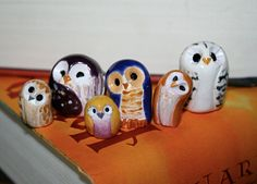 Yellow Pygmy the Clay Owl: Harry Potter Inspired Owlery.