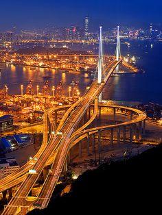 Stone cutter's bridge, Hong Kong