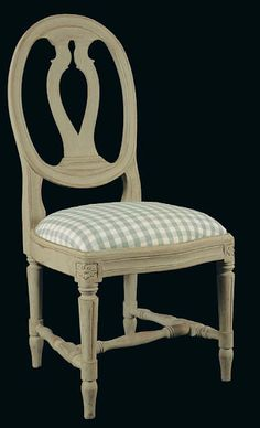 Gustavian Oval Chair