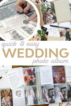 """ to a stunning, meaningful wedding scrapbook with Easy Albums! Wedding Album Layout, Wedding Photo Albums, Wedding Photos, Project Life Wedding, Scrapbooking Layouts, Scrapbook Pages, Fun World, Wedding Scrapbook, Kindergarten Classroom"