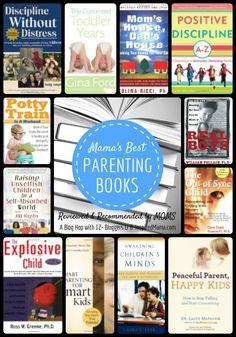 Mama's Best Parenting Books - #kids #parenting #motherhood #kbn #binspiredmama