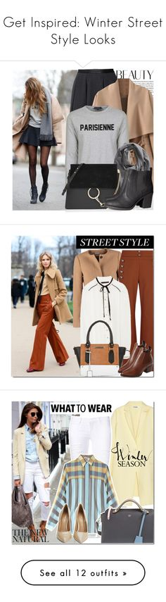 """Get Inspired: Winter Street Style Looks"" by polyvore-editorial ❤ liked on Polyvore featuring winterstyle, Oris, H&M, Gant Rugger, Chloé, StreetStyle, chloe, sweaterweather, StreetChic and fallstyle"