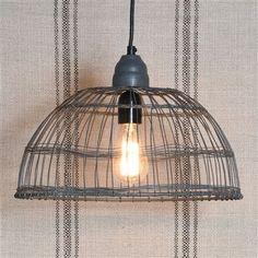 Tulle Wire Zinc Pendant Lamp
