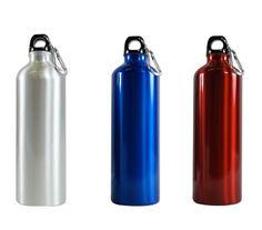 Random Color - Aluminum Water Bottle 25oz (750ml) - Eco Friendly and BPA FREE water bottle - one Random,http://www.amazon.com/dp/B005CSZ23A/ref=cm_sw_r_pi_dp_ssIltb1Y3JFFYW4J  (Approx. $5)