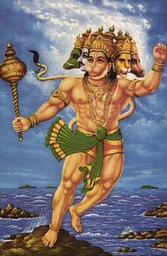 Panchmukhi hanuman shame to those who pinned the boar on my page being slaughtered in this Holy Day!