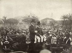 Augusto Malta. Doutor Rodrigues Alves no Campo de Santana, 1908. Centro, Rio de Janeiro / Acervo do IMS