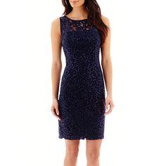 Scarlett Lace Sheath Dress - JCPenney