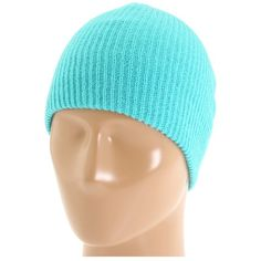 Neff Daily Beanie (Teal) Beanies ($16) ❤ liked on Polyvore featuring accessories, hats, teal hat, beanie cap, logo beanie hats, logo hats and beanie hats