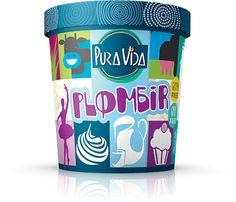 -Plombir-  Lodowa przyjemność o smaku waniliowo-śmietankowym.  Bezglutenowe GMO FREE  267 G / 500 ML