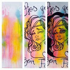 #girl #sketch #graffitty #wall