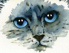 """Lori Alexander   """"Tealy"""" - watercolor"""