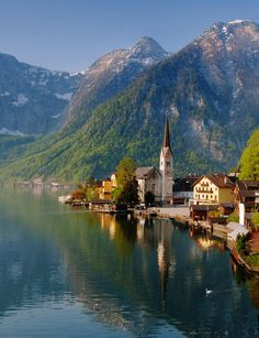 #Hallstatt_Village, #Salzkammergut_Lake, #Fuschl_am_See #Austria http://en.directrooms.com/hotels/district/2-9-1973-7093/