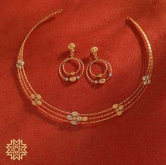 Jewellery: Manu Bhai Jewels Gold Jewelry Simple, Stylish Jewelry, Nose Jewelry, Gold Light, Gold Jewellery Design, Gold Accessories, Gold Necklaces, Lockets, Beaded Jewelry