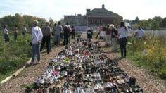 shoe antiviolence Milwaukee