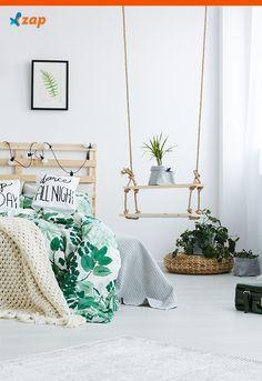 Quem disse que somente de móveis óbvios pode ser feita a decoração do ambiente? Saiba como usar um balanço na decoração.