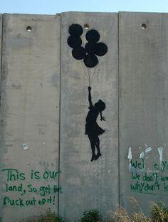 Dans la petite box: Banksy Street art