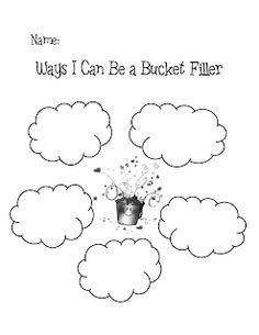 Fabulous in Fourth!: Bucket Filler Frenzy