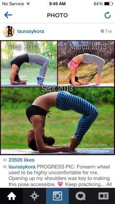 Progression #yoga