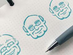 """The Doc"" (Logo Mark Sketching) by Ryan Kirkpatrick #Design Popular #Dribbble #shots"