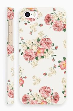 Vintage Flower Pattern Case for iPhone