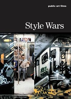 Style Wars [GT3913 .S78 2004] A documentary exploration of the subculture of New York's young graffiti writers and break dancers, showing their activities and aspirations and the social and aesthetic controversies surrounding New York graffiti. Dramatizes conflicts between graffiti artists and the city, as well as among the graffiti artists themselves Directors:Henry Chalfant, Tony Silver Stars:Cey Adams, Cap, Daze
