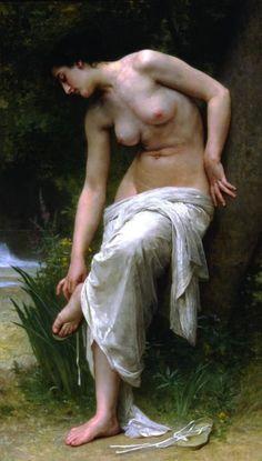 After the Bath, bouguereau