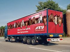 Truck Side Advertising - Mobile Billboards Outdoor Advertising - www.TruckMyAd.com