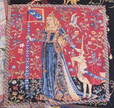Image result for pink medieval tapestry
