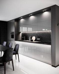 590 High Gloss Kitchen Ideas In 2021 High Gloss Kitchen Gloss Kitchen Kitchen Design