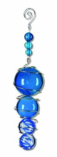 Sunset Vista Stratus Spheres Volaris Marble Sun Catcher, 5-1/2-Inch Long by Sunset Vista Designs. $10.80. Sunset vista has everything you need to decorate your home and yard. Measures 2-inch wide and 5-1/2-inch long. Blue marbles reflect light to add a shine to any room. Great gift choice for a housewarming or to mark a special occasion. Metal and marble sun catcher. Metal and marble sun catcher adds color and reflects light, perfect for any decor. Also makes a great gif...