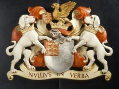 "The Royal Society in London, UK Motto: ""Nvllivs In Verba"" - Question Everything"