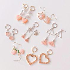Geode Jewelry, Ear Jewelry, Cute Jewelry, Jewelry Accessories, Fashion Accessories, Fashion Jewelry, Jewelry Design, Jewelry Shop, Cute Earrings