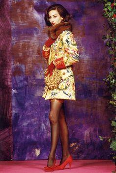 1990 Christian Lacroix Haute Couture Fall-Winte