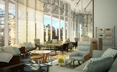 The James in NYC: Like people, certain hotels emanate je ne sais quoi, a vibe that ensures quantum cool and unparalleled service.
