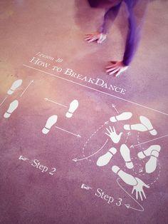How to breakdance sticker