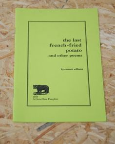 Art history and its methods eric fernie via invisible bookshop the last french fried potato emmett williams fandeluxe Images