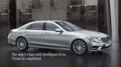 The Stop&Go Pilot feature of the 2014 #MercedesBenz S-Class http://www.benzinsider.com/2013/07/how-to-lead-ad-for-2014-mercedes-benz-s-class-released/