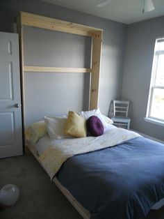 How to make a Murphy bed.