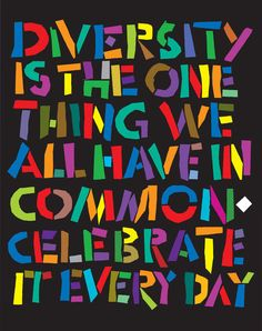Celebrate Diversity!