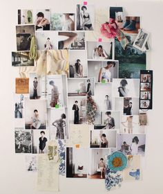 Erica Tanov's inspiration board.   via SF Girl by Bay