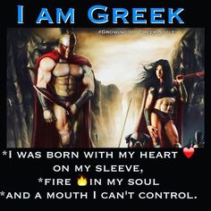 I control it most of the time. Greek Memes, Funny Greek, Greek Quotes, Greek Sayings, Europe Facts, Greek Girl, Fire In My Soul, Spartan Warrior, Greek Language