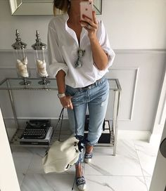 #KISS - Keep it Simple, Shirt ...#white #shirt #mintlabel #fashion #ootd #look #smile #style #stylish #moda #instagram #streetstyle #instafashion #instamood