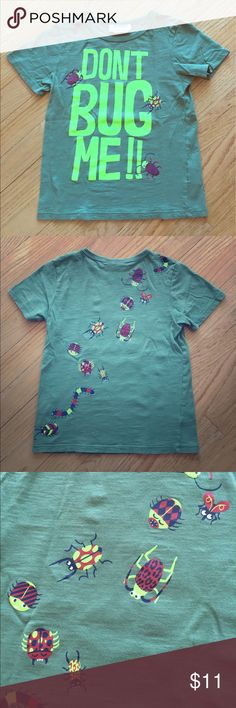 Organic, Glow in the dark boy's T-shirt Excellent preowned condition. No obvious signs of wear. Soft organic cotton with adorable bugs that glow in the dark. My son begged me for this t! H&M Shirts & Tops Tees - Short Sleeve