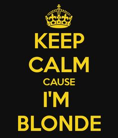im a blonde processing bllonder! :-) :-)I want my hair the platnium shade of Jesus  as The Ancient of Days. That is the best resson to become a  platinum blonde.