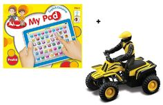 Wowkart is one of the best online toy store for your kids having many numbers of collection of Pad English learner tablet + Maisto die cast ATVs at Buy 1 Get 1 free offer.  This thrilling motorized toy is just amazing for a full time fun for your little one. For more details Visit http://www.wowkart.com/toys/my-pad-english-learner-smart-tablet-maisto-die-cast-atvs/ or call us directly at +91-120-6500315.