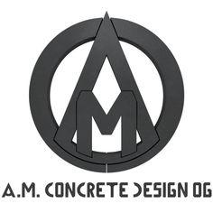 #AMCONCRETEDESIGN Concrete, Letters, Lifestyle, Architecture, Furniture, Home Furnishings, Architecture Illustrations, Fonts, Arredamento