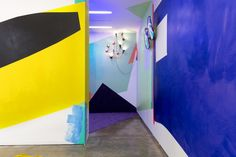 Jessica Stockholder, 'Door Hinges,' 2015, installation view. COURTESY THE ARTIST AND KAVI GUPTA