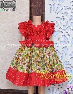 Kids Dress Wear, Kids Gown, Kids Wear, Baby Girl Dress Design, Girls Frock Design, Indian Dresses For Kids, Dresses Kids Girl, Baby Girl Frocks, Frocks For Girls